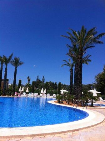Inturotel Sa Marina : Pool our room overlooked