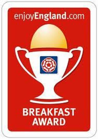 Chynoweth Lodge: Breakfast Award