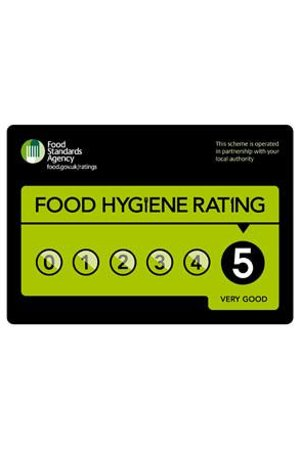 Chynoweth Lodge: 5 Star Food Hygiene