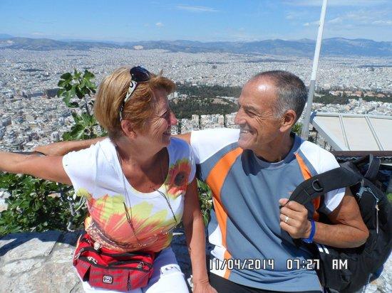 Iniohos Hotel: nosotros en el  monte Likavitos