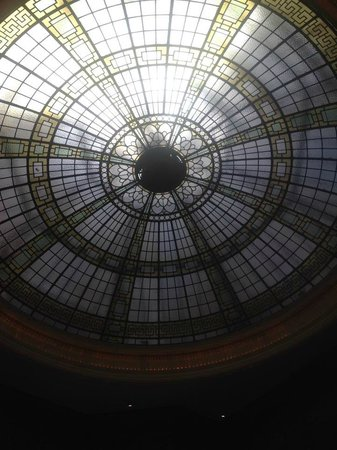 The Palace Hotel: Reception Roof