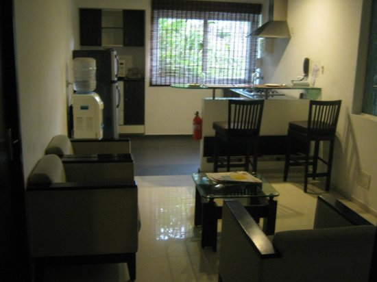 Smart Haven: Dining Area/Kitchen