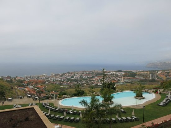 Hotel Las Aguilas : Sicht