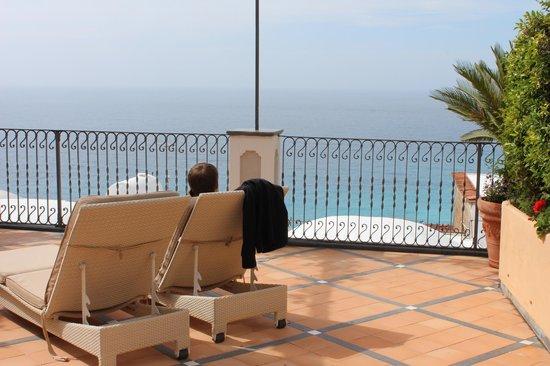 Albergo Punta Regina: Our large terrace
