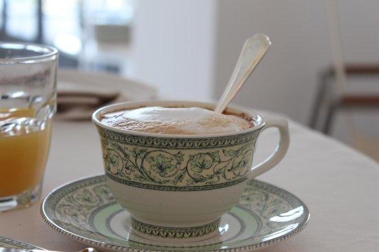 Albergo Punta Regina : Cappuccino in the morning