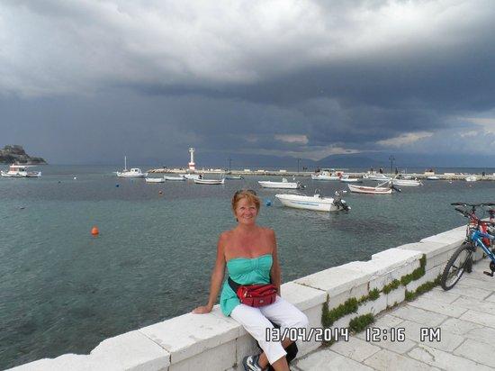 Hotel Bretagne: SE VIENE LA TORMENTA!!!