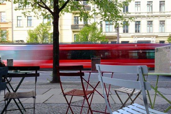 Generator Berlin Mitte: Outside Tram