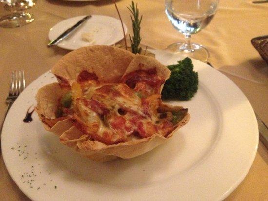 Sage Restaurant & Wine Bar : Mexican tortilla yum!