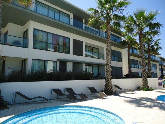Cavalo Preto Beach Resort: West facing