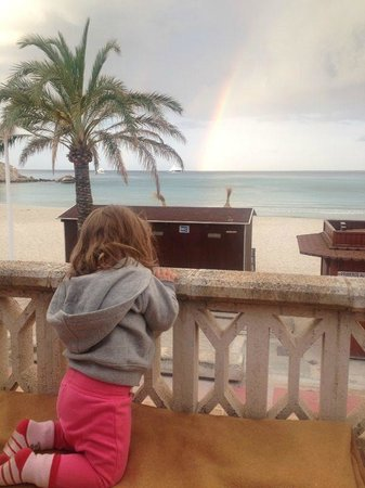 Hesperia Mallorca Villamil: Blick zum Meer