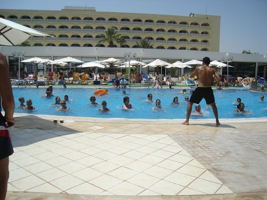 SunConnect One Resort Monastir : Аквааэробика