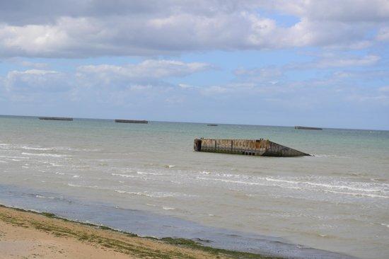 Musee du debarquement: 1 des plages