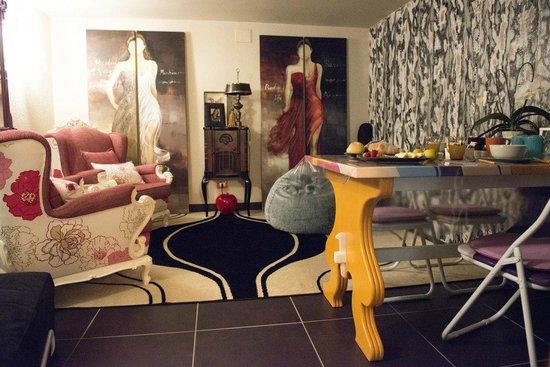 Pasqualon: Sala colazione/ relax