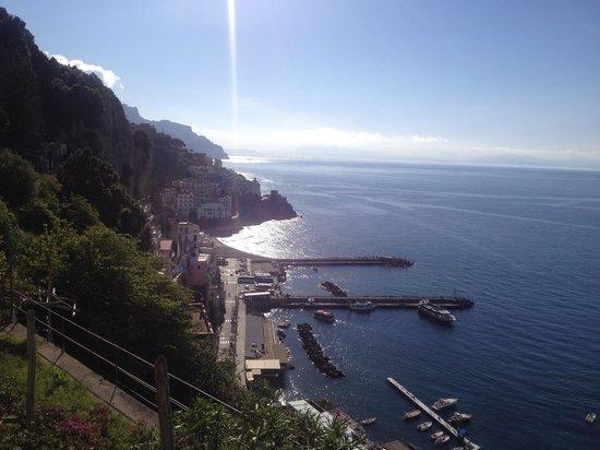 NH Collection Grand Hotel Convento di Amalfi : la vista dalla ns stanza