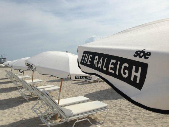 The Raleigh Miami Beach: Standliegen