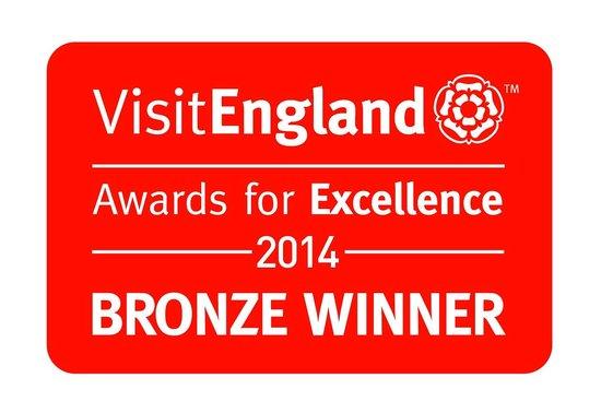Kester House Bed & Breakfast : Bronze Award for Best B&B from VisitEngland