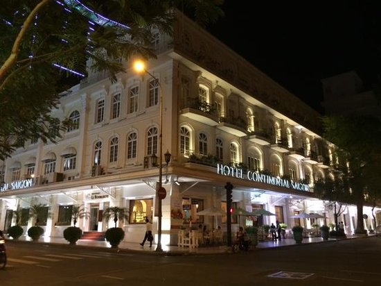 Hotel Continental Saigon: lovely place to stay