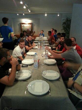 Aparthotel Atenea Valles: Salón privado para comer