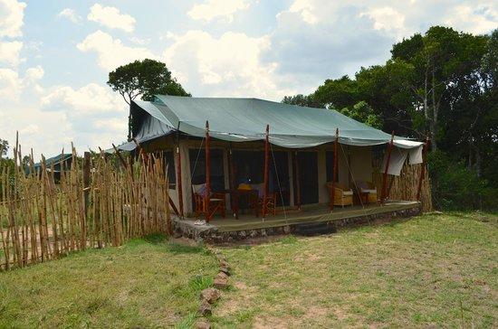 Offbeat Mara Camp: la tente du bonheur