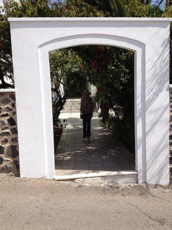 Atrium Villa: Arrival