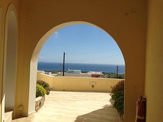 Anatoli Hotel : sea view