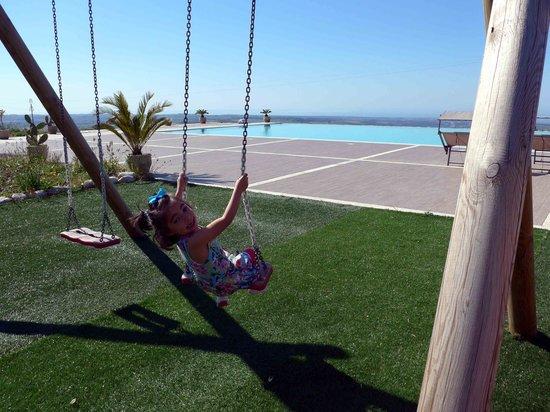 La dimora di Spartivento: Swinging close to heaven