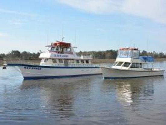 Calabash fishing fleet 39 s navigator party boat the miss for Calabash fishing fleet