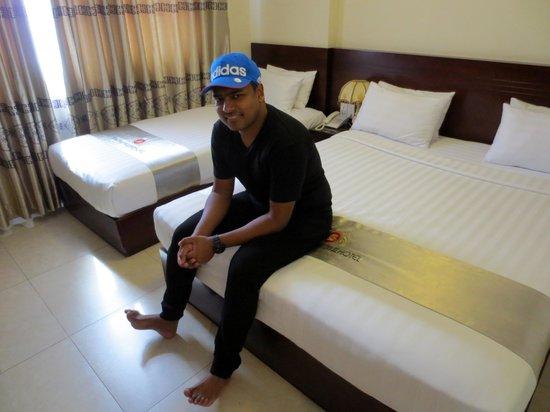 Beautiful Saigon 3 Hotel: Beds