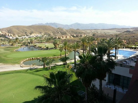 Valle del Este Golf Resort: Vistas del golf desde la habitación