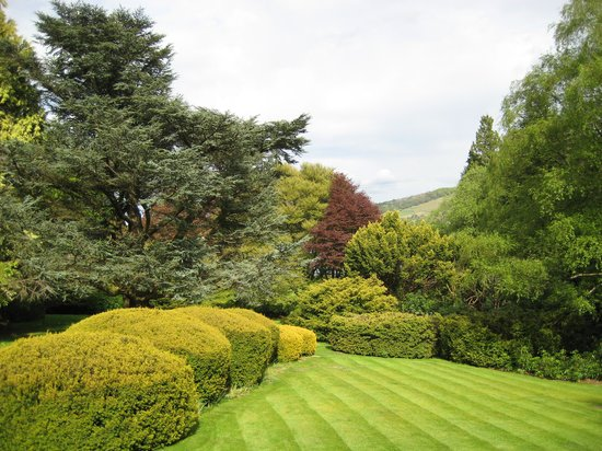 Macdonald Leeming House, Ullswater: View from Bedroom Balcony over lawns