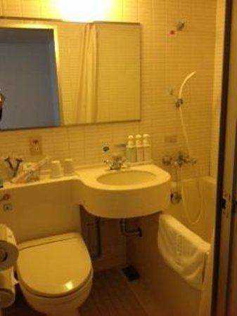 Shinjuku Washington Hotel Main: 浴室 ちょっと古いです。