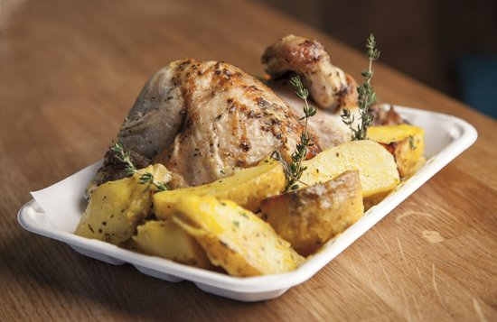 Taka Taka: Chicken in trouble (lemon thyme and secret sauce)