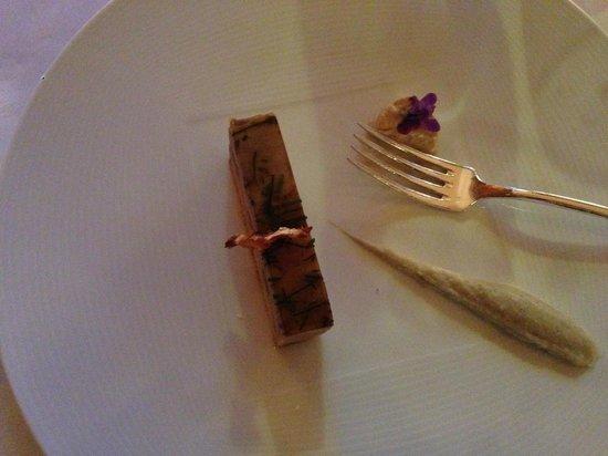 Domaine Des Avenieres : Foie gras avec arichaut
