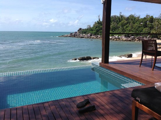 Bedarra Island Resort: Our plunge pool