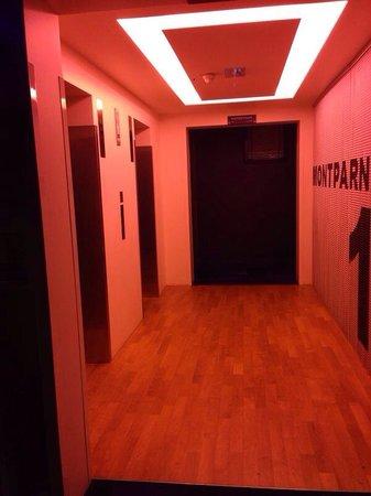 Adagio Paris Tour Eiffel: Elevators