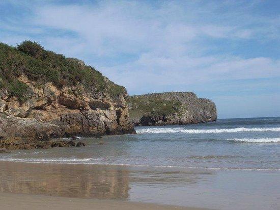 Playa de Torimbia: Playa preciosa