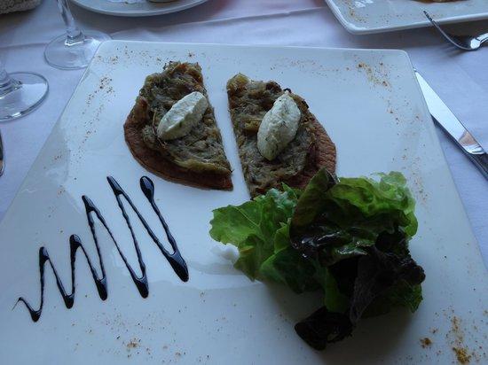 Restaurant l'Antigu: L'entrée