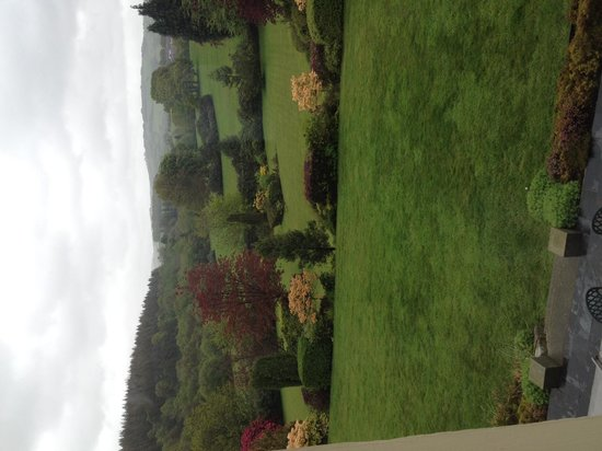 The Falcondale Hotel: View from our Room