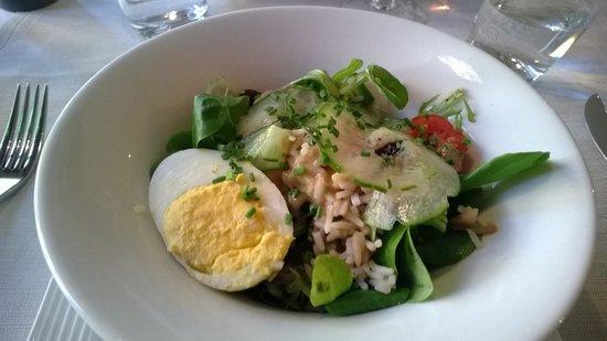 Belfort, Prancis: salade niçoise