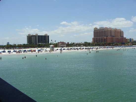 Clearwater Beach in May