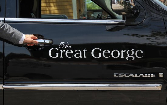 The Great George: Complimentary Parking