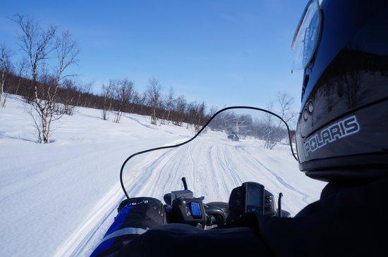 Kautokeino, Norveç: El viaje en moto