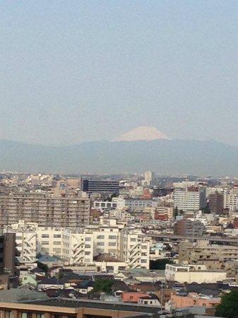 Ours Inn Hankyu: 部屋から見える富士山