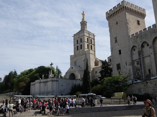 Pope's Palace (Palais des Papes): アヴィニョン教皇庁