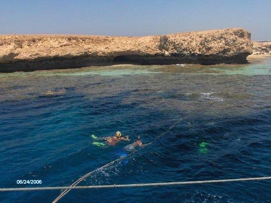 Îles Giftoun : Clear crystal waters around Giftun Island