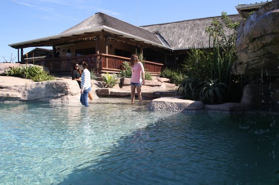 Rain Farm Game and Lodge: Rock  pool