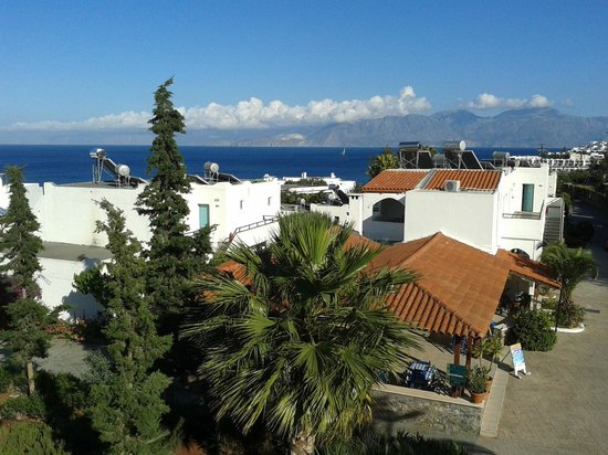 Elounda Breeze Resort : view from our balcony