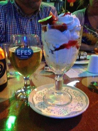 Circus Restaurant: excellent pudding