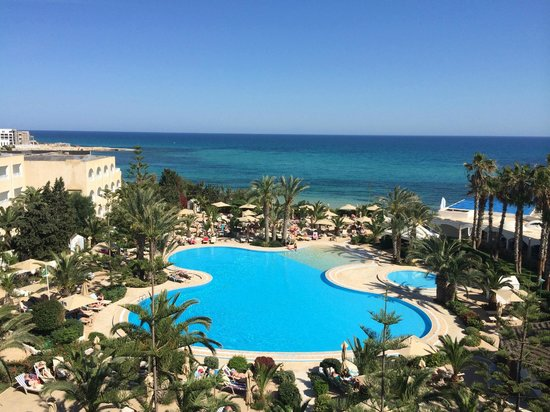 SENTIDO Aziza Beach Golf & Spa: Stunning view from room 207
