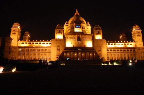 Umaid Bhawan Palace Jodhpur: The hotel